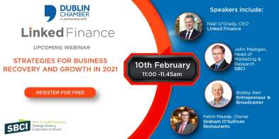 Linked Finance FREE Webinar - Strategies for Business Recovery and Growth in 2021